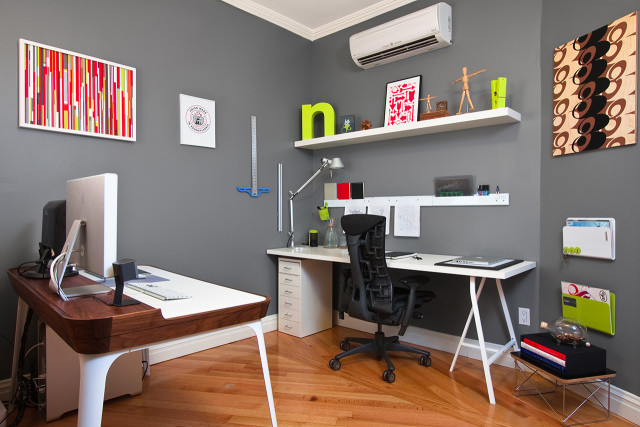 Creative workspace is better for your health