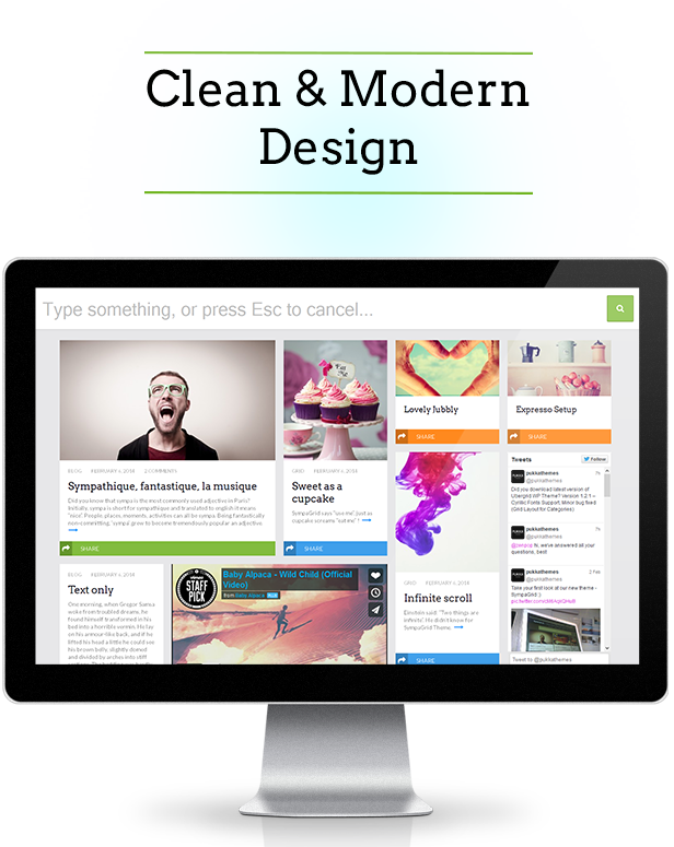 SympaGrid - Responsive Grid WordPress Theme - 2