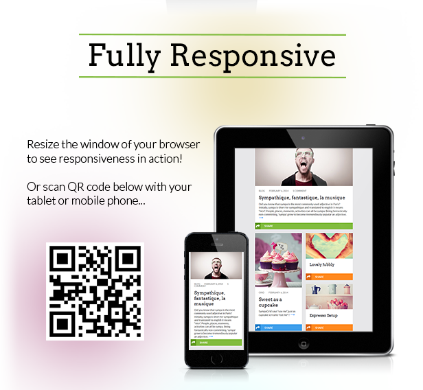 SympaGrid - Responsive Grid WordPress Theme - 3