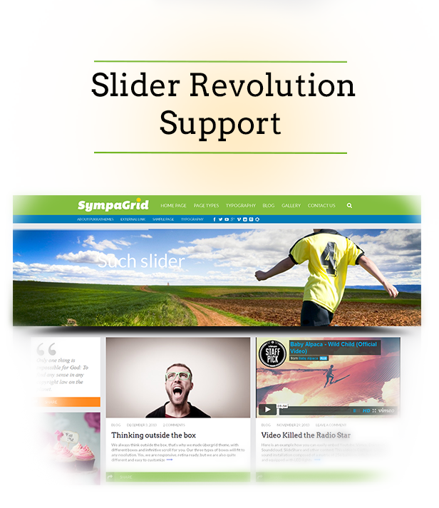 SympaGrid - Responsive Grid WordPress Theme - 9